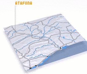 3d view of Atafona
