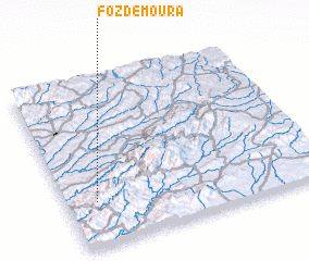 3d view of Foz de Moura