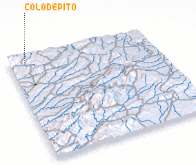 3d view of Colo de Pito