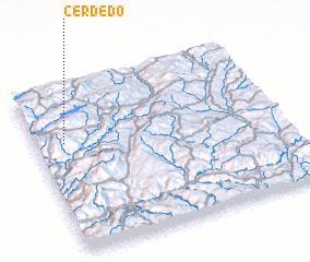 3d view of Cerdedo
