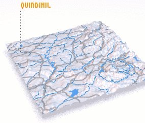 3d view of Quindimil