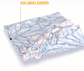 3d view of Oulad el Guern