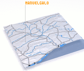 3d view of Manuel Galo