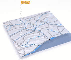 3d view of Goias