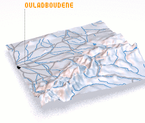 3d view of Oulad Boudene