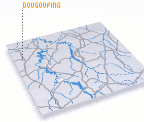 3d view of Dougoufing