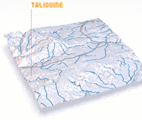 3d view of Taliouine