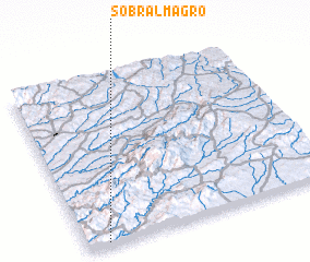 3d view of Sobral Magro