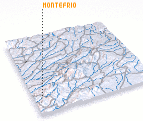 3d view of Monte Frio