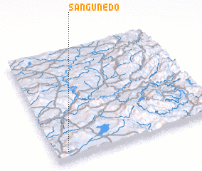 3d view of Sanguñedo