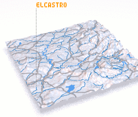 3d view of El Castro