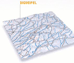 3d view of Digueifel
