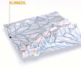 3d view of El Mhazil