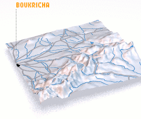 3d view of Bou Kricha