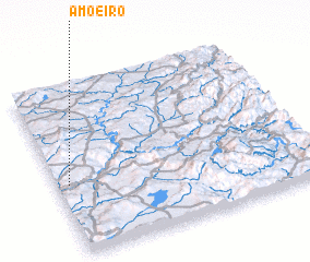 3d view of Amoeiro