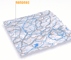 3d view of Mandrás