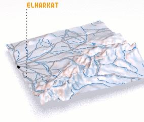 3d view of El Harkat
