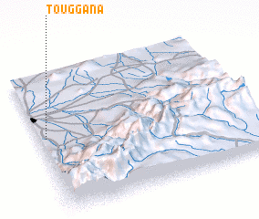 3d view of Touggana