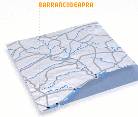 3d view of Barranco de Apra