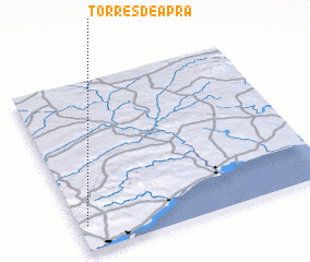3d view of Torres de Apra