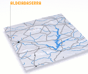 3d view of Aldeia da Serra