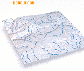 3d view of Bou Oulgou
