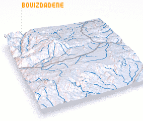 3d view of Bou Izdadene