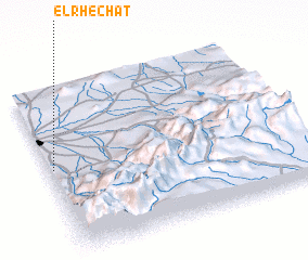 3d view of El Rhechat