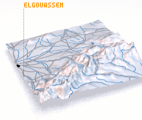 3d view of El Gouassem