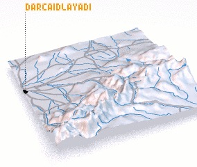 3d view of Dar Caïd Layadi