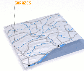 3d view of Gorazes