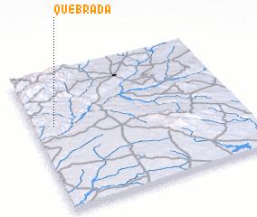 3d view of Quebrada