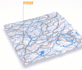 3d view of Piñor