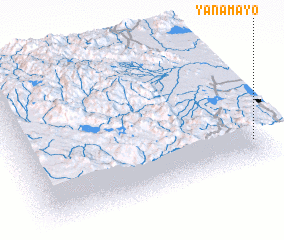 3d view of Yanamayo