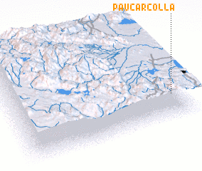 3d view of Paucarcolla