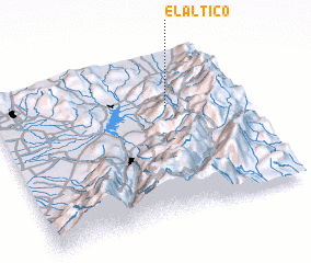 3d view of El Altico
