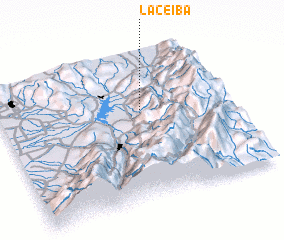 3d view of La Ceiba