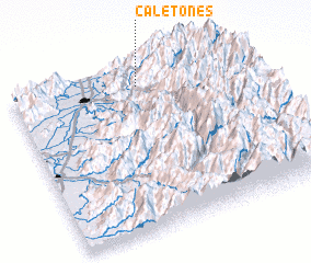 3d view of Caletones