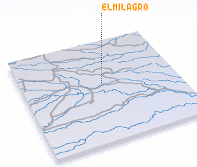 3d view of El Milagro