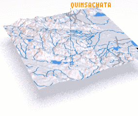 3d view of Quimsachata