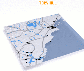 3d view of Tory Hill