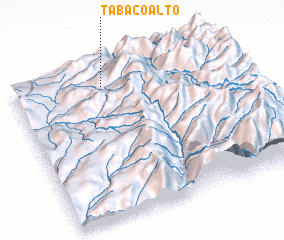 3d view of Tabaco Alto