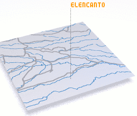3d view of El Encanto