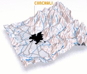 3d view of Conchalí