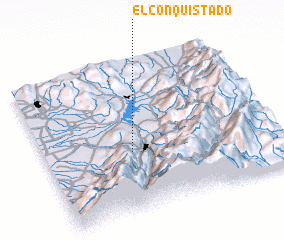 3d view of El Conquistado