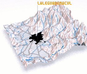 3d view of La Legua de Macul
