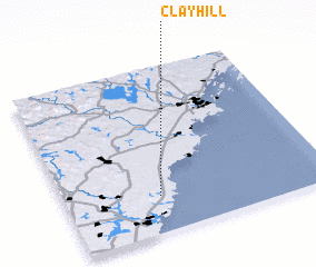 3d view of Clay Hill