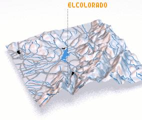3d view of El Colorado