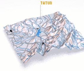 3d view of Tatún