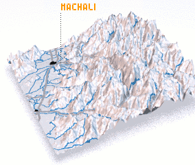 3d view of Machalí